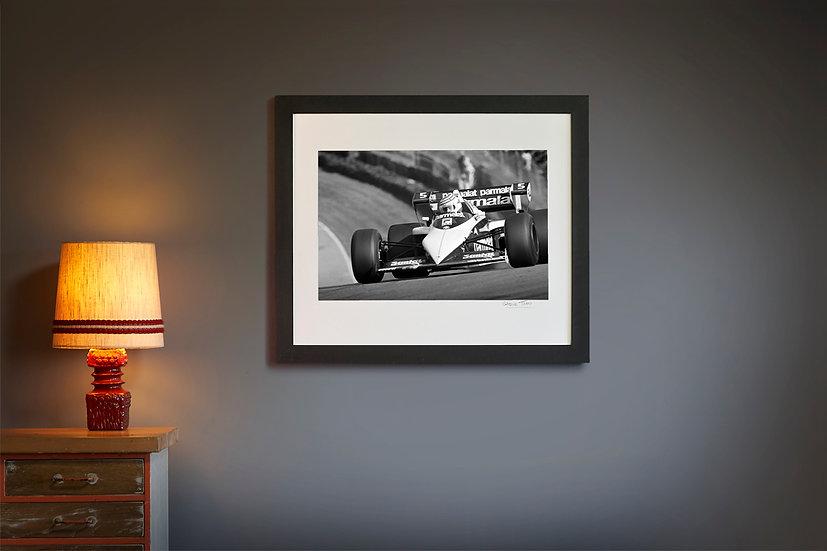 Nelson Piquet Brabham BT52B Brands Hatch 1983
