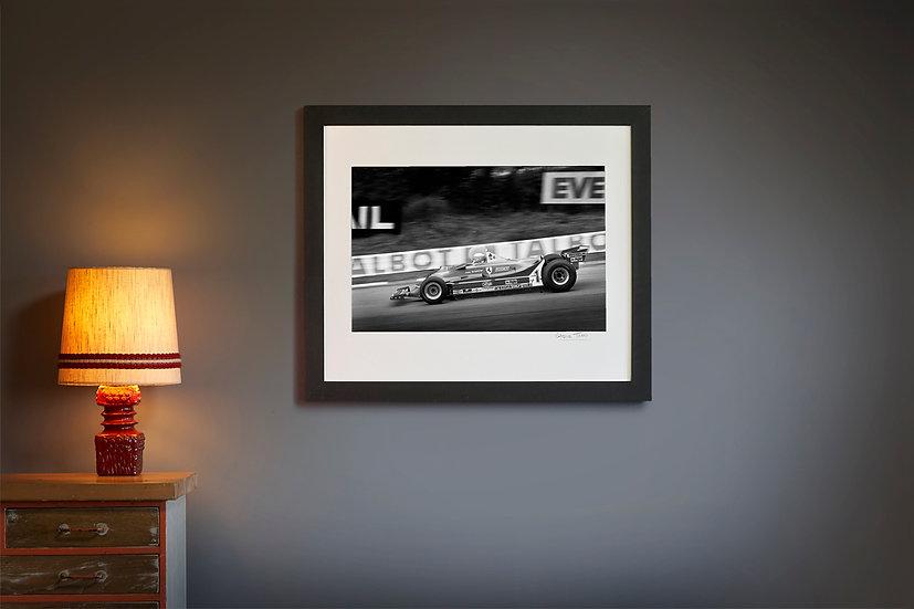 Jody Scheckter Ferrari T5 Brands Hatch 1980