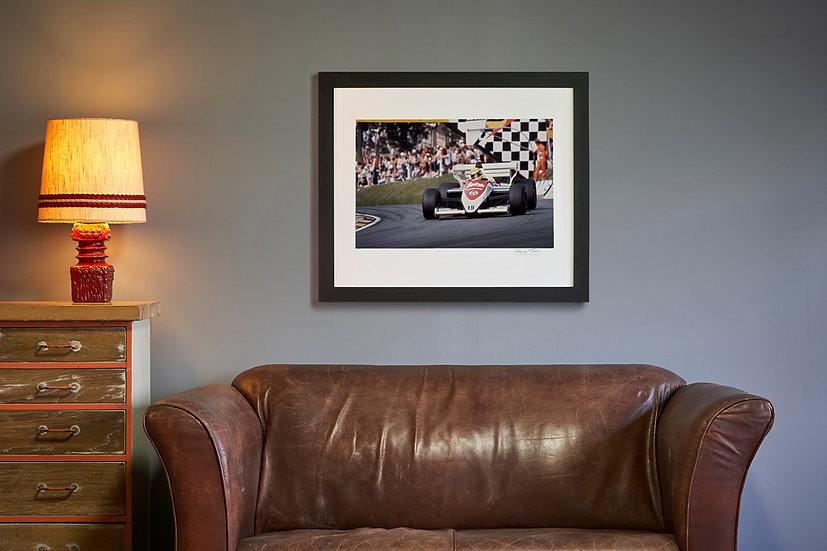 Ayrton Senna Toleman TG184 Brands Hatch 1984