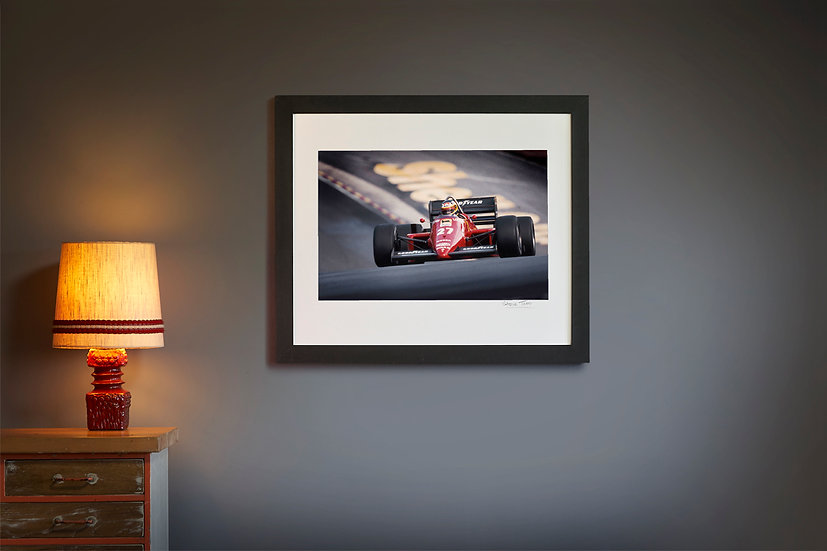 Michele Alboreto Ferrari 156/85 1985