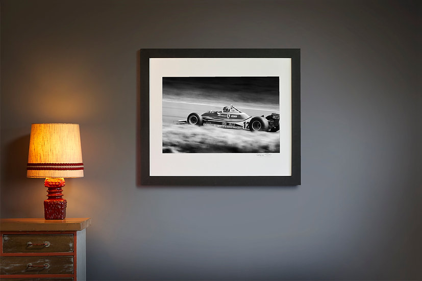 Gilles Villeneuve Ferrari T4 1979