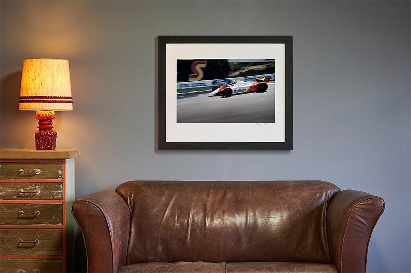 Niki Lauda McLaren MP4B Brands Hatch 1982