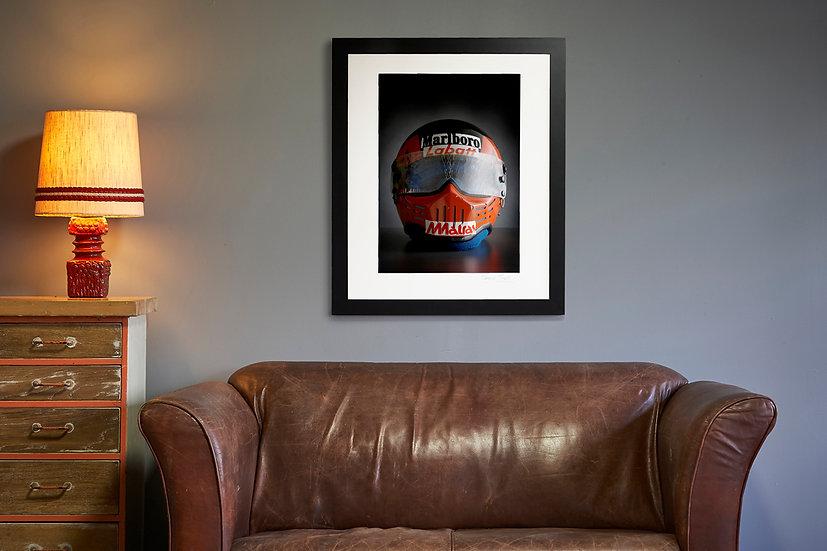 Gilles Villeneuve Simpson Bandit Helmet