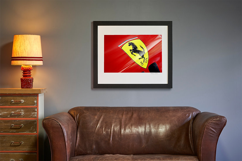 Scuderia Ferrari Badge