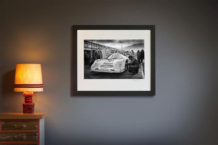 Palmer Wilson Ford C100 Pits 1982