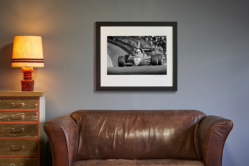 Rene Arnoux Ferrari 126 C3 Brands Hatch 1983