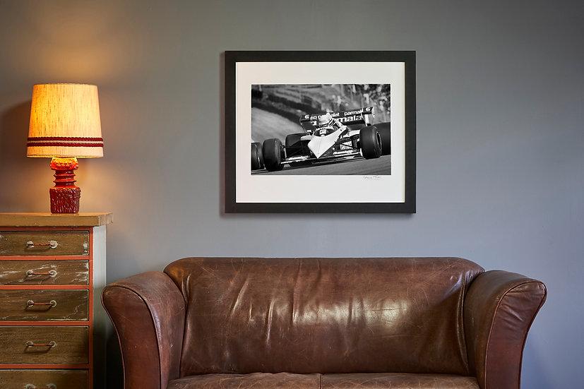 Riccardo Patrese Brabham BT52 Brands Hatch 1983