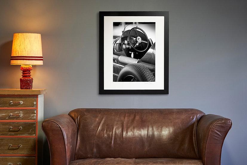 Maserati A6-34 Cockpit