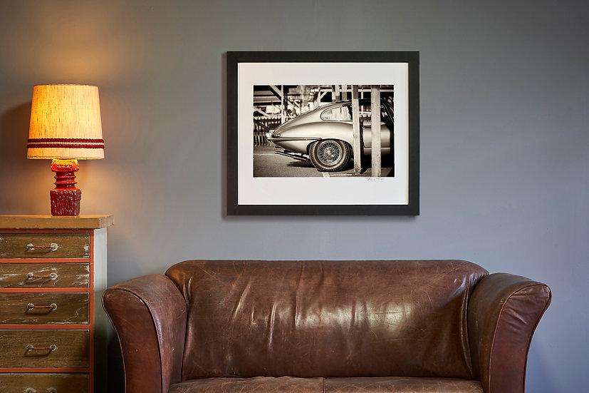 E Type Jaguar Rear