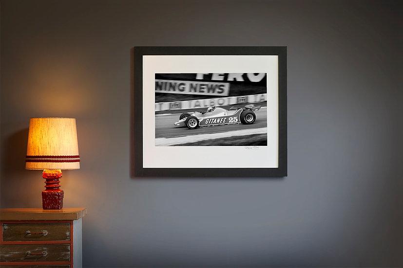 Didier Pironi Ligier JS11/15 1980