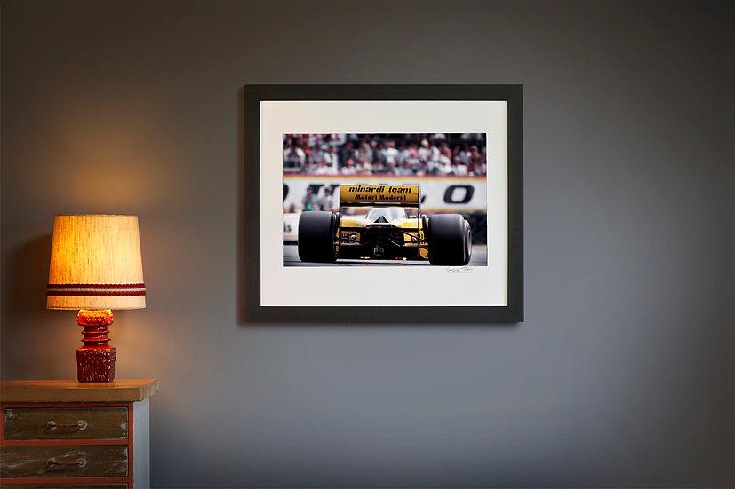 Minardi M185 Brands Hatch 1985