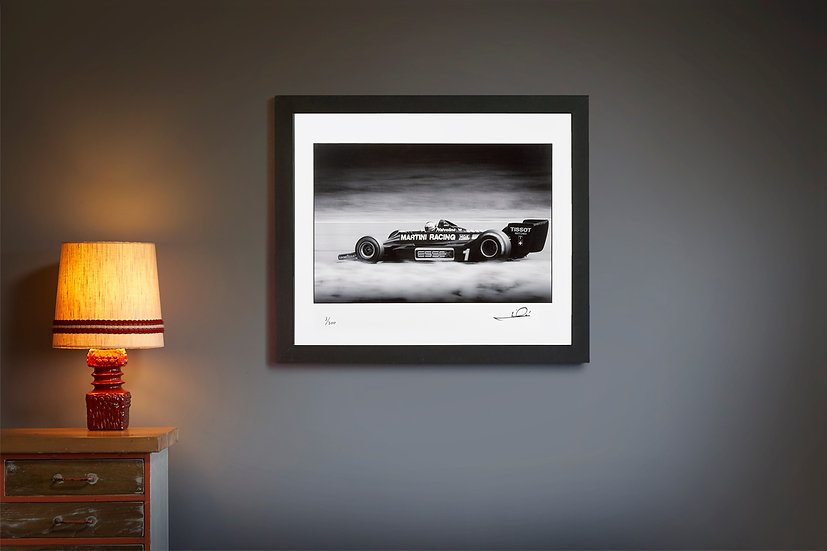Mario Andretti Lotus 79 Silverstone 1979 Signed by Driver