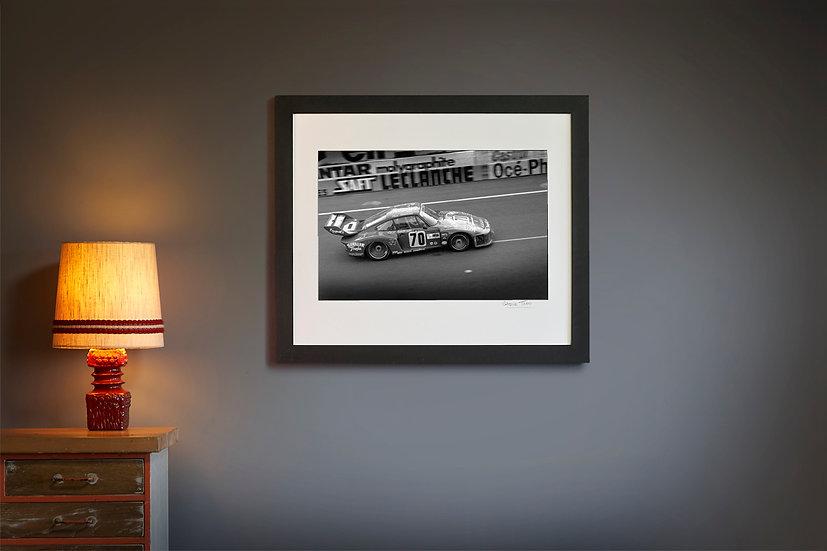 Paul Newman Porsche 935 Le Mans 1979