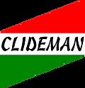 Logotipo CLIDEMAN (fondo de letras blanc