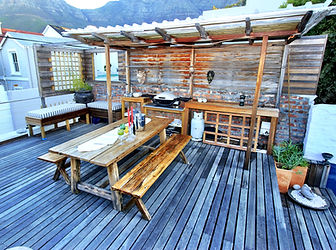 Braai and Deck area