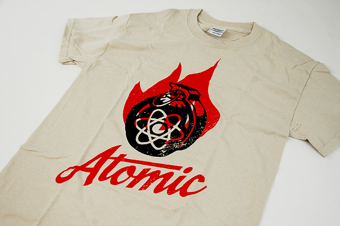 Wingstop Atomic Shirt Design
