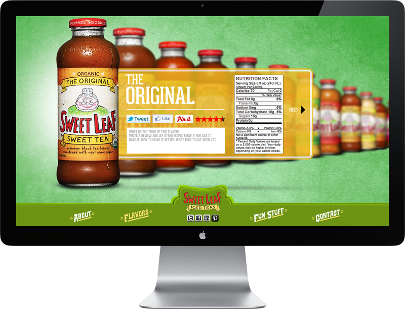 Sweet Leaf Tea Microsite 03