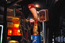 Bombshell Blonde Beer Tap Design