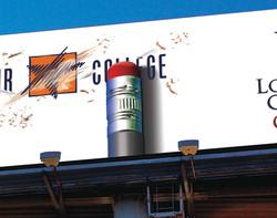 Lone Star College Billboard
