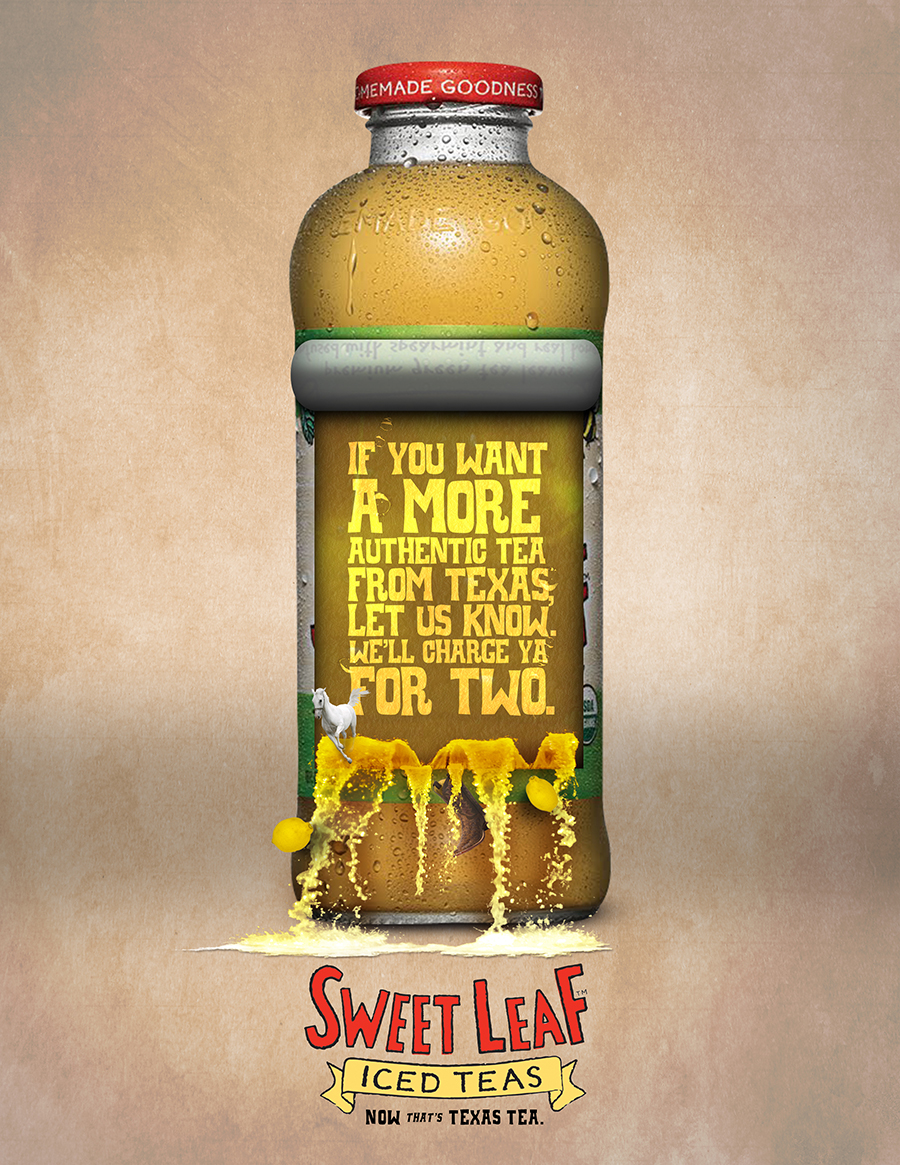 Sweet Leaf Tea Print Ad 01