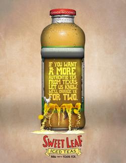 Sweet Leaf Tea Print Ad 01