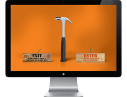 Home Depot Microsite Landing Page