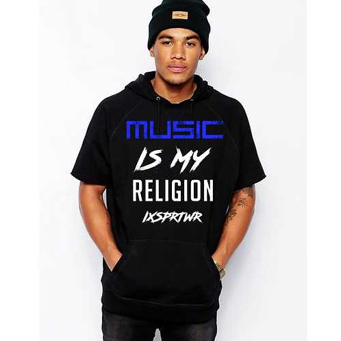 MUSIC IS MY RELIGION HOODIE by IXSpiritwear