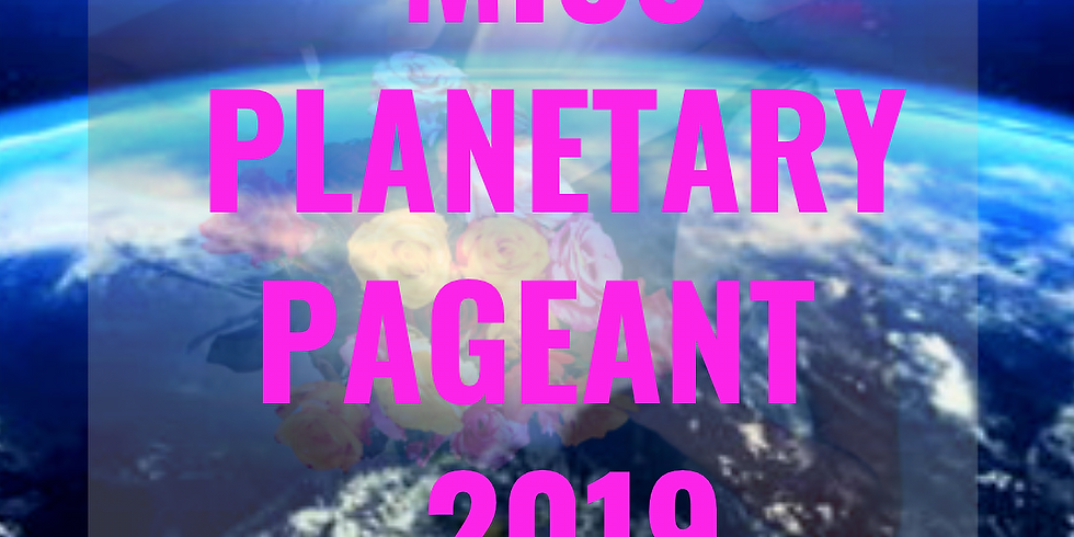Miss Planetary Pageant 2019 at the Daley Plaza!