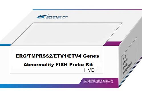 ERG/TMPRSS2/ETV1/ETV4 Genes Abnormality FISH Probe Kit