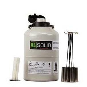 10L Liquid Nitrogen Dewar - LN2 Dewar with Straps