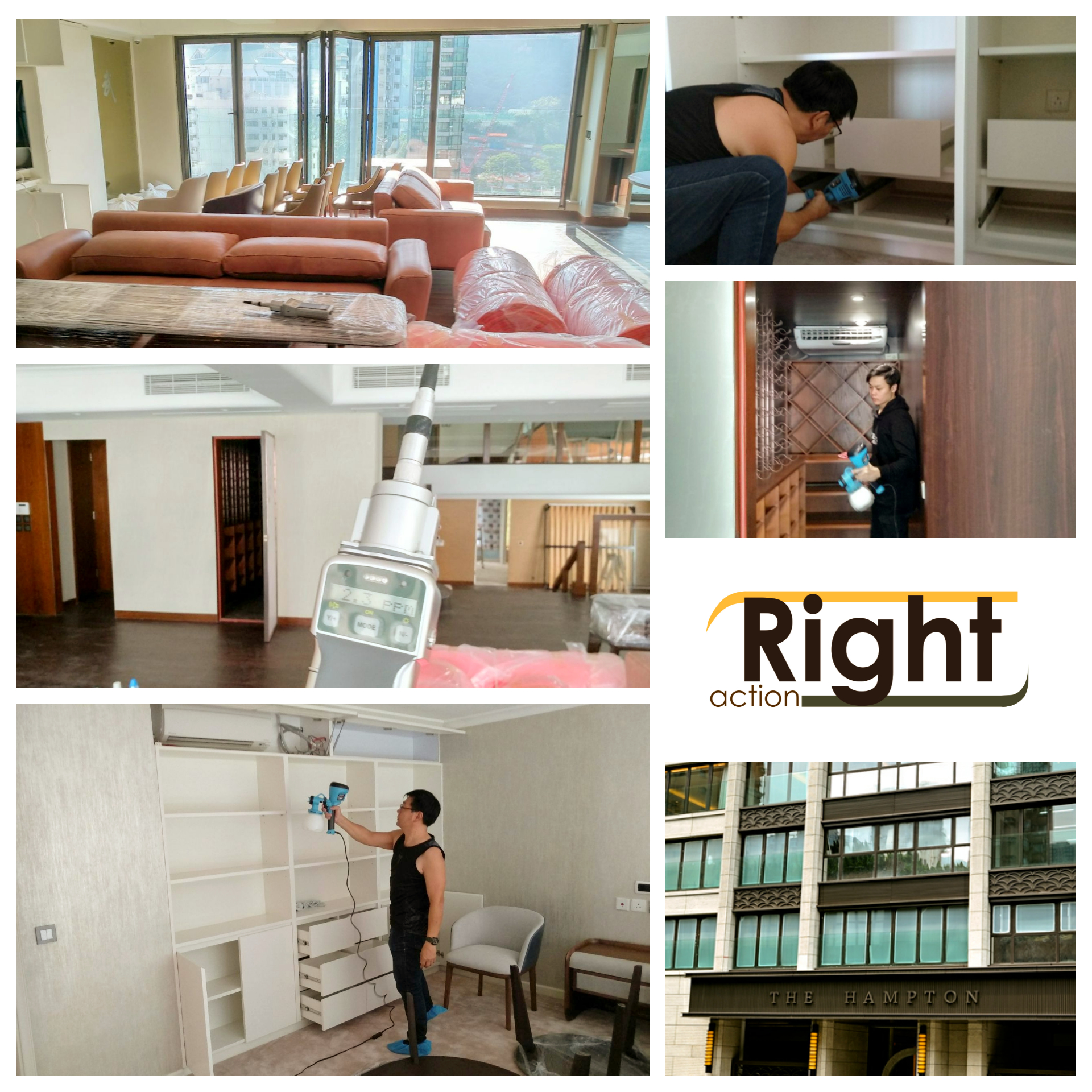 RIGHT ACTION_THE HAMPTON 複式