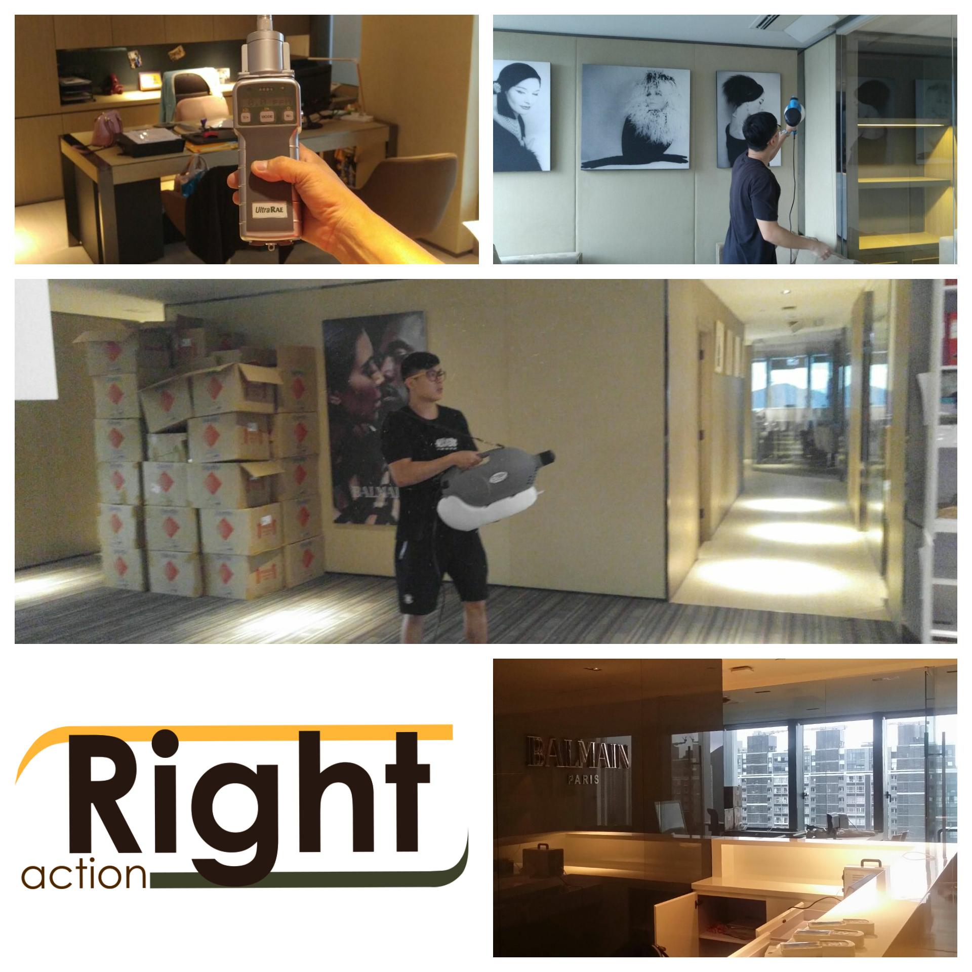 RIGHT ACTION_BALMAIN OFFICE