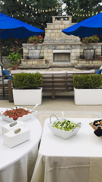 Outdoor Patio w/ Fire Function Space