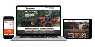 Ladd Farm Mart Web Design