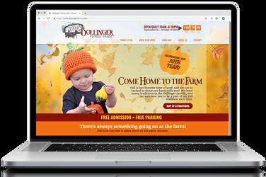 Dollinger Farms Web Design