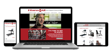 Fitness for All Web Design