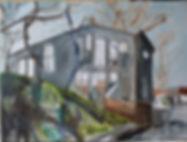 Christiania, 99-130cm, huile sur toile, 2019