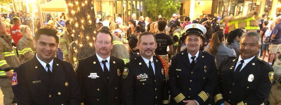 Chiefs at 9/11 Ceremony