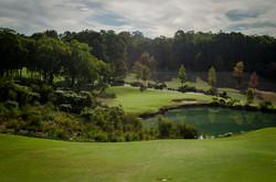 Perth Golf Physio 9th green