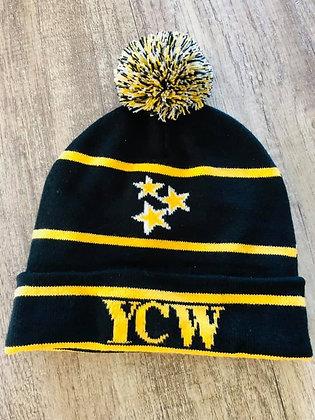 YCW Black and yellow Beanie