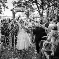 Woodland Wedding at The Coppleridge Inn | Walking Down the Aisle