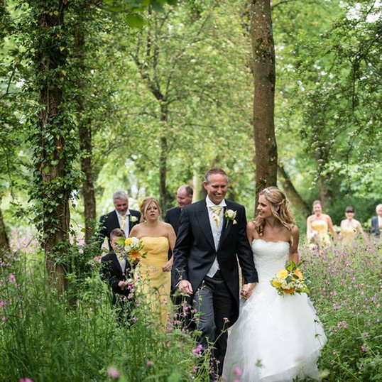 Woodland Wedding at The Coppleridge Inn