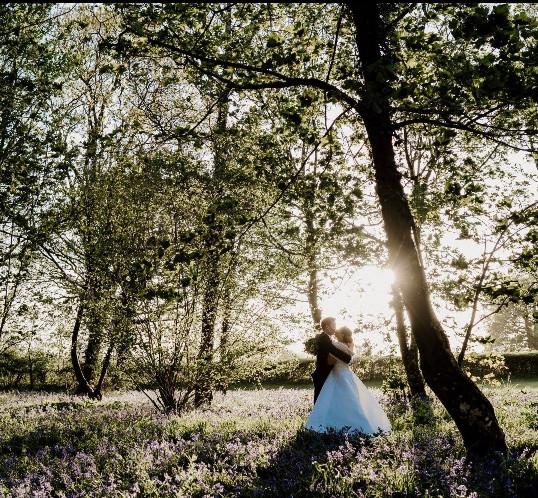Woodland wedding coppleridge inn dorset.