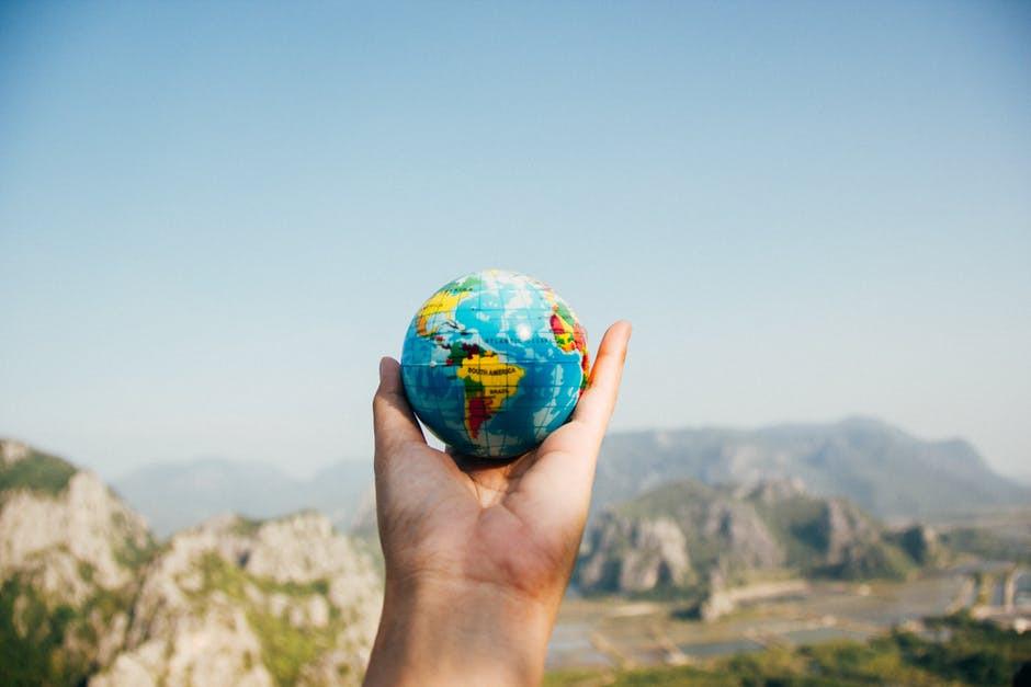 Travel agent globe