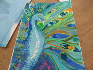 Our Output from Art Class