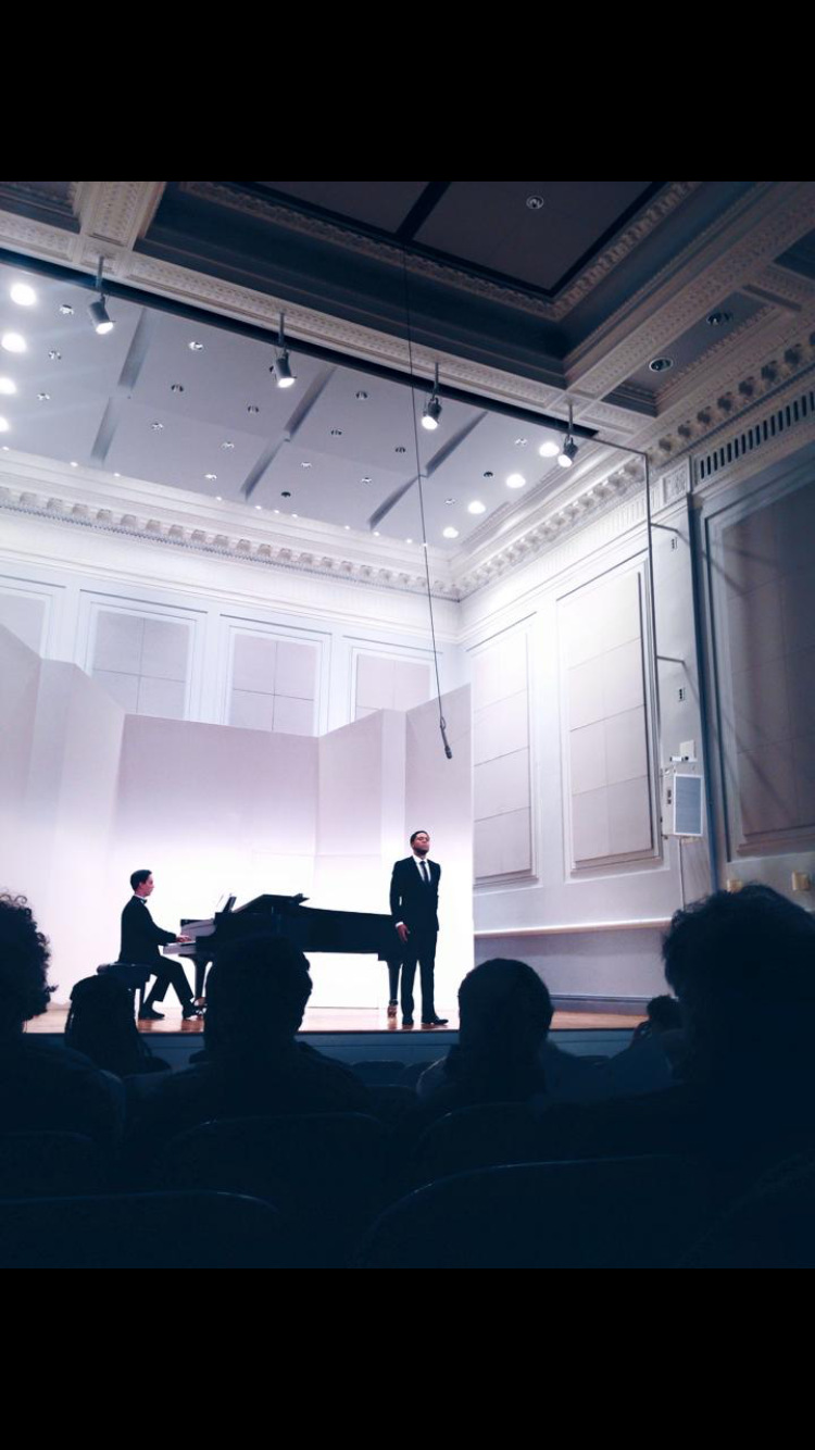 Justin Austin in Recital