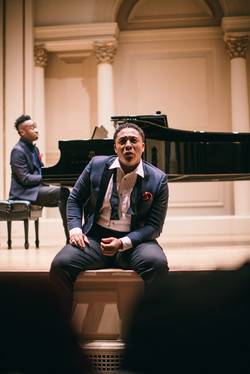 Justin Austin and Damien Sneed in Recital