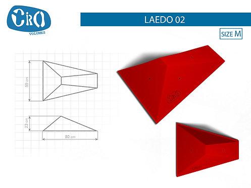 Накладной каркасный рельеф для скалолазания CRIO HOLDS LAEDO 02