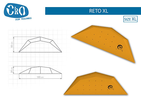 Рельеф каркасный накладной для скалолазания CRIO HOLDS RETO XL