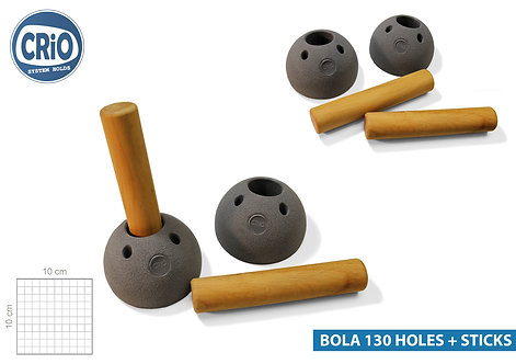 BOLA 130 HOLES + STICKS